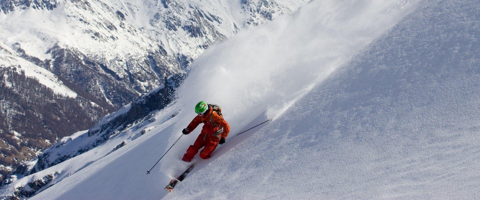 Skitouren gehen und Zeichen setzen!