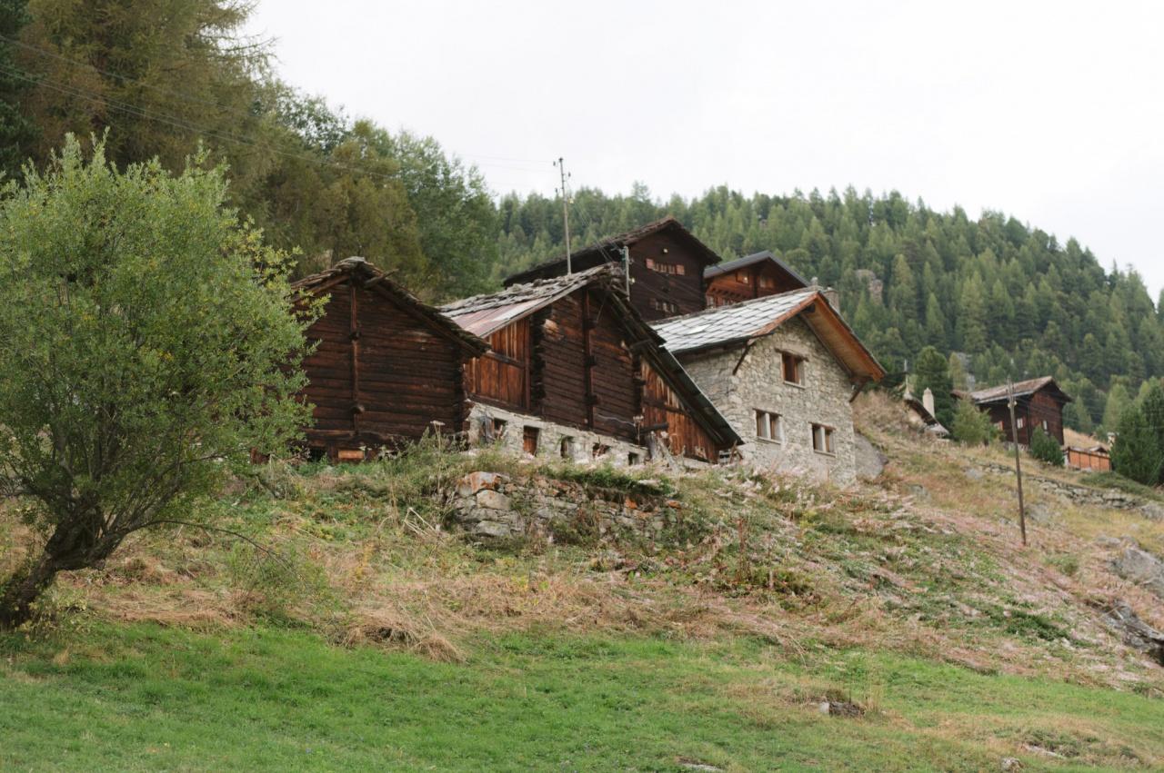 Le village d'Arolla