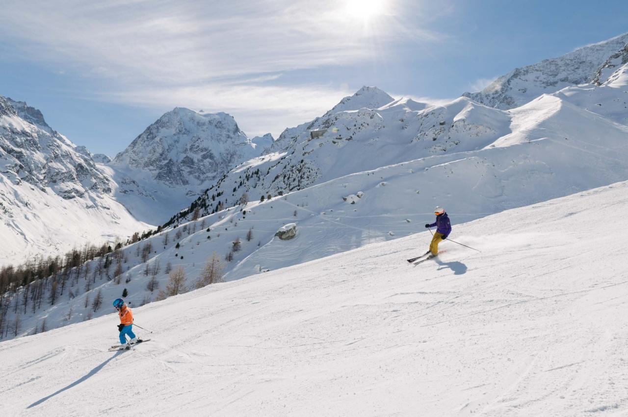 Espace Dent-Blanche - Secteur ski d'Arolla