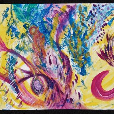 Atelier peinture intuitive et méditation