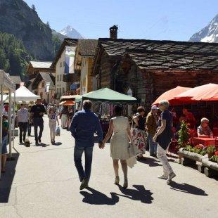 Village market - Evolène