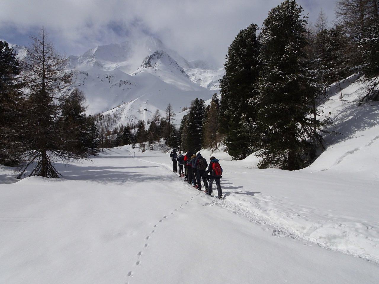 Offre - Traversée du Val d'Hérens en raquette sur 3 jours