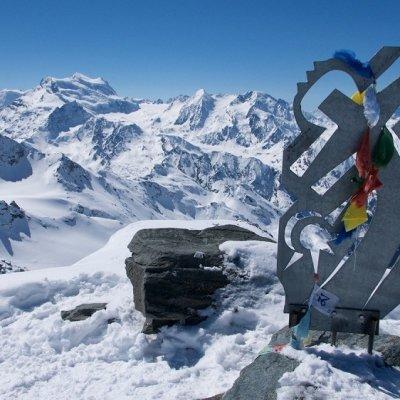 Climbing - Rosablanche via the Prafleuri hut