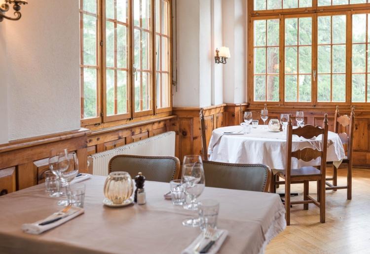 Restaurant l'Honorine et Jardin des Arolles du Grand Hôtel & Kurhaus