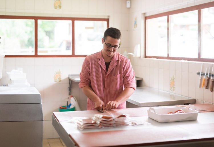 Boucherie des Haudères