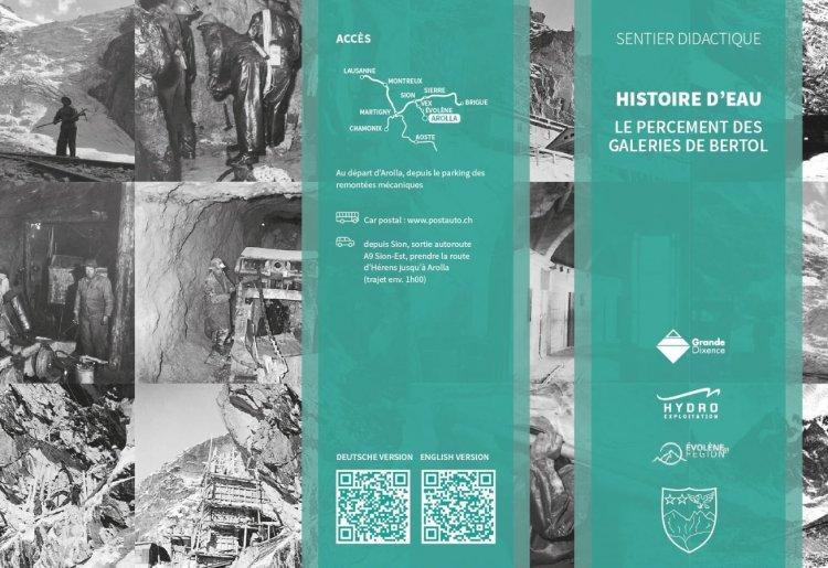 Histoire d'Eau, du glacier à l'électricité