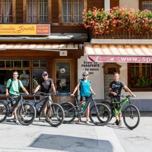 Guided electric mountain bike tours