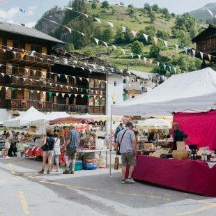 Weekly market - Les Haudères