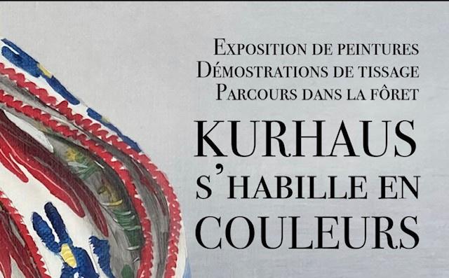 Exposition TOURBILLON sur les rubans du costume traditionnel d'Evolène